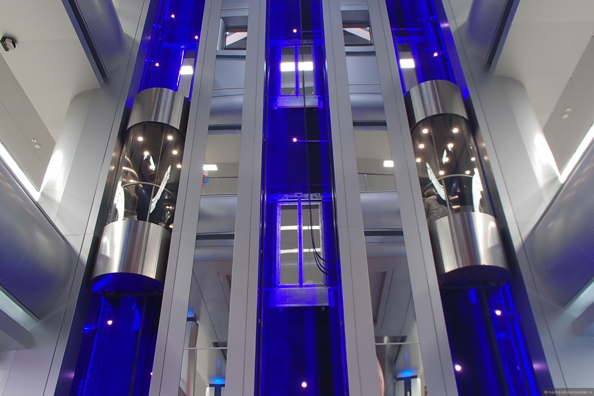 Современный лифт фото